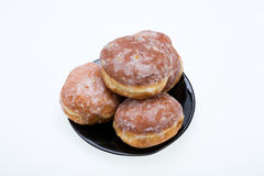 Whole donuts Royalty Free Stock Image
