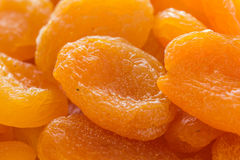 Whole dried apricots Royalty Free Stock Photos