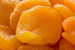 Whole dried apricots Royalty Free Stock Photo
