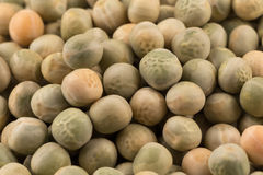 Whole dried green peas full frame Royalty Free Stock Photography