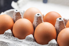 Whole eggs Royalty Free Stock Images