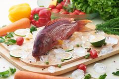 Whole fish Stock Photography