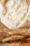 Whole flour Stock Photo