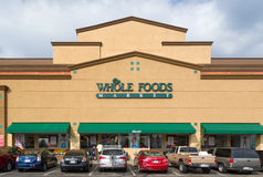 Whole Food Market Exterior Royalty Free Stock Photos