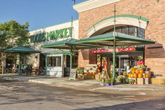 Whole Food Market store entrance Royalty Free Stock Photos