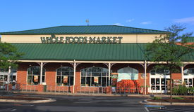Whole Foods Market Organic Store Stock Photos
