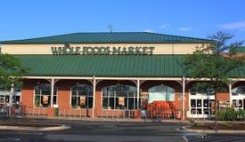 Whole Foods Market Organic Store Stock Photos