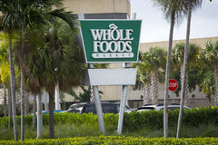 Whole Foods Market Stock Image