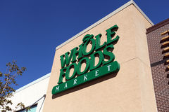Whole Foods Market Sign royalty free stock photography