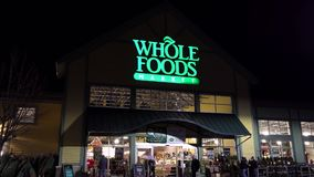 Whole Foods natural organic grocery market storefront