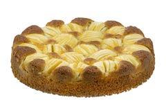 Whole fresh apple cake Stock Images