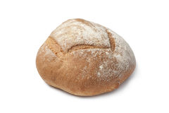 Whole fresh artisan loaf of bread Royalty Free Stock Images