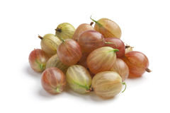 Whole fresh gooseberries Royalty Free Stock Photography