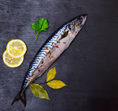 Whole Fresh Mackerel With Spices