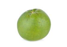 Whole fresh pomelo on white background Royalty Free Stock Photos