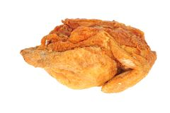 Whole Fried Chicken Royalty Free Stock Image