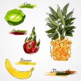 Whole fruits Royalty Free Stock Image