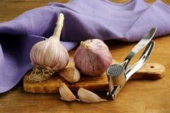Whole garlic bulbs Royalty Free Stock Photo