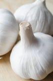 Whole Garlic Bulbs  Macro Stock Photo
