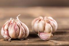 Whole garlic Stock Images