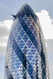 The whole Gherkin in London Royalty Free Stock Image