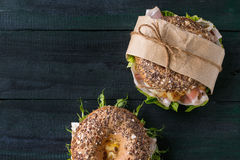 Free Whole Grain Bagel Stock Images - 71970834