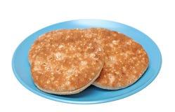 Whole grain bagels Stock Images