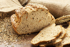Whole grain bread Royalty Free Stock Image