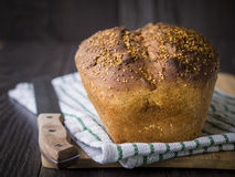 Whole grain bread Royalty Free Stock Images