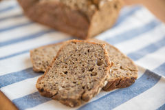 Whole Grain Bread. Home made Whole Grain Bread Stock Image