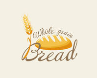 Whole grain bread. Royalty Free Stock Images