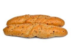 Whole-grain bread roll Stock Image
