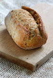 Whole grain bread roll Royalty Free Stock Photography