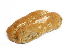 Whole-grain bread roll Stock Images
