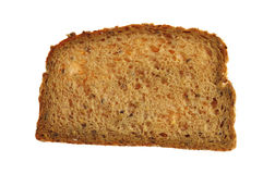Whole grain bread slice Royalty Free Stock Photography