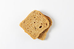 Whole grain bread slices Royalty Free Stock Photography