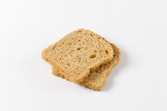 Whole grain bread slices Royalty Free Stock Image