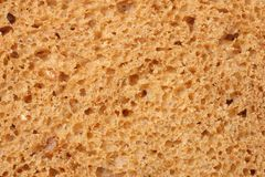 Whole grain bread texture background. macro. top view stock photography