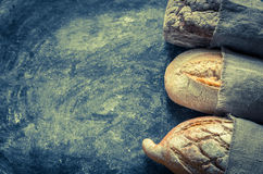 Whole grain breads Royalty Free Stock Photo