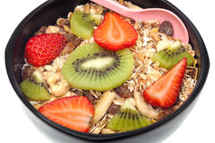 Whole grain breakfast Stock Images