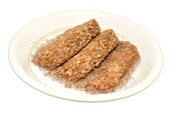 Whole Grain Cereal Biscuits Royalty Free Stock Photos