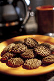 Whole grain cookies Stock Photos