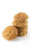 Whole grain cookies Stock Photo
