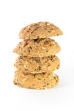 Whole grain cookies Stock Image