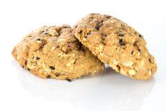 Whole grain cookies Royalty Free Stock Photo