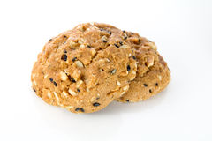 Whole grain cookies Stock Photo