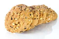 Whole grain cookies Royalty Free Stock Image