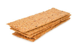 Whole-grain crackers Stock Images