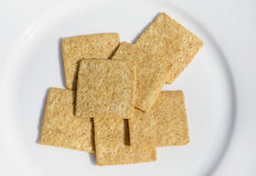 Whole Grain Crackers Stock Images