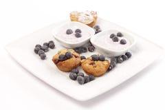 Whole grain cupcakes Royalty Free Stock Photos